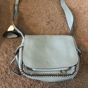Baby blue coach satchel